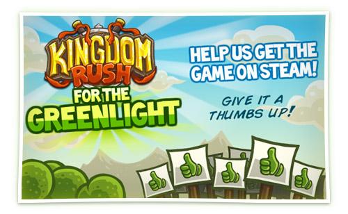 Kingdom Rush @ Greenlight!