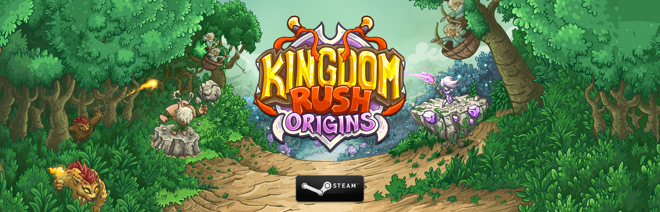KINGDOM RUSH ORIGINS ON STEAM - Ironhide Game Studio