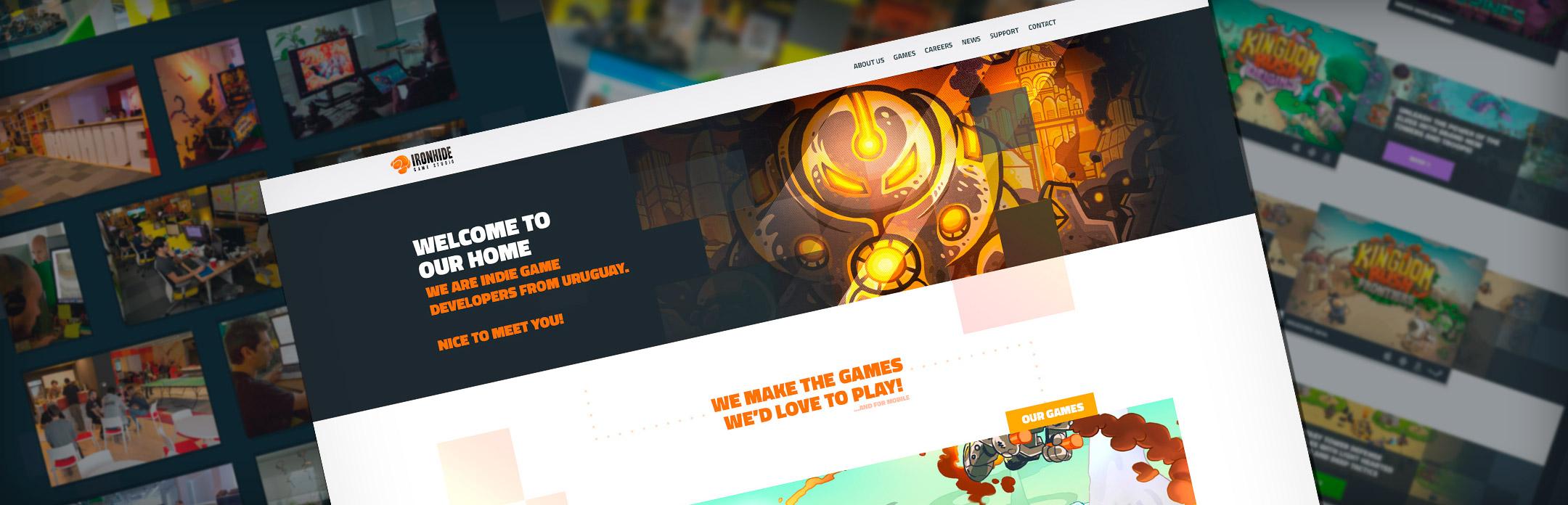 New Iron-Website 2016! - Ironhide Game Studio